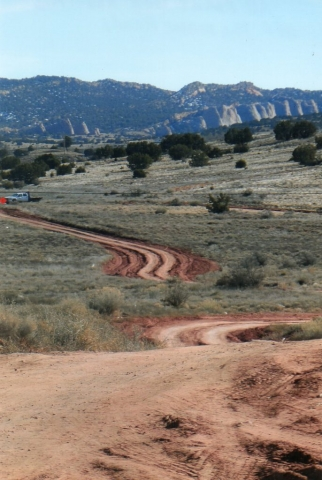 Navajo nation roads