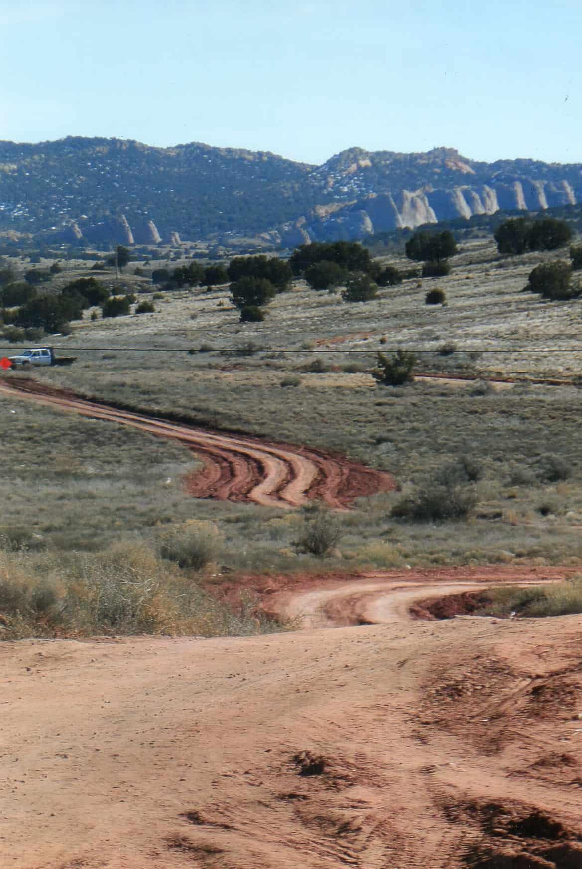 Navajo nation roads